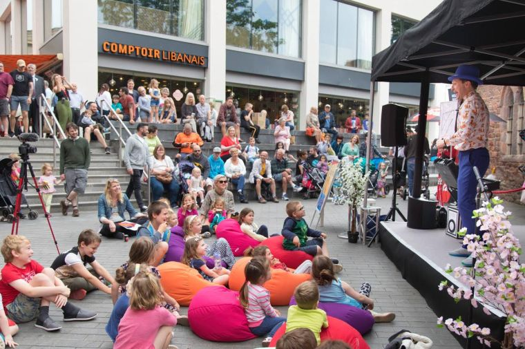 Ritchie's Magic Show - great for shopping centres