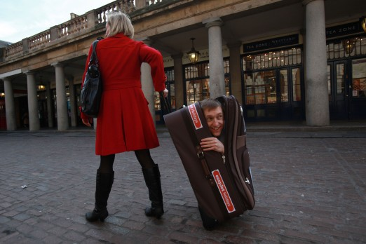 suitcase contortion